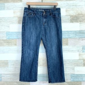 Limited Edition Cropped Jeans Mid Rise Gap